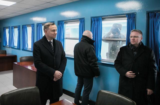 Prezydent Andrzej Duda w Korei