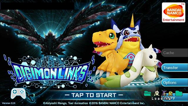 Digimon Links Banda Namco