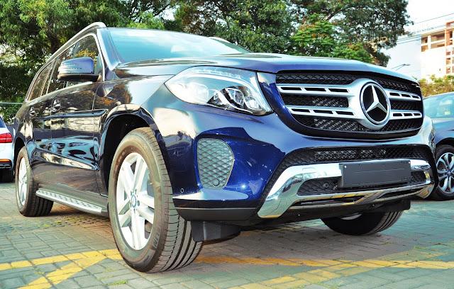 Thiết kế Mercedes GLS 350 d 4MATIC bắt mắt sang trọng