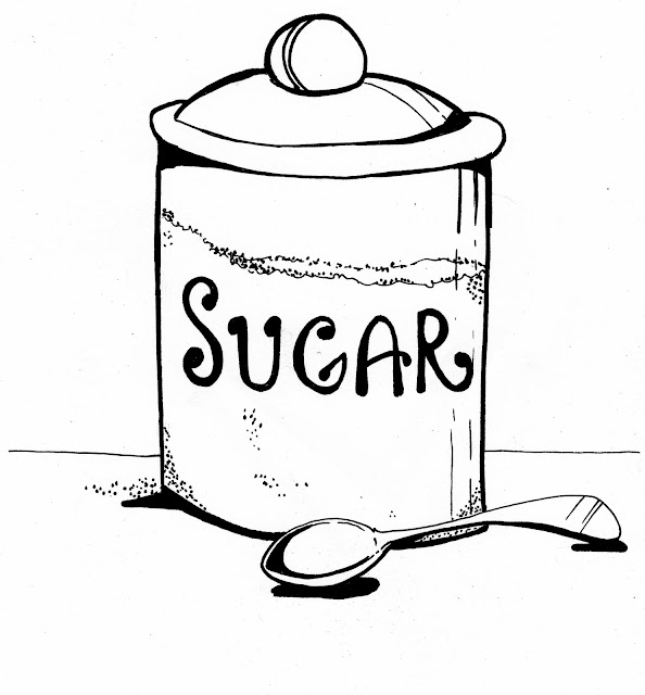 Brush Quibblies: Day 316: Sugar. In water.