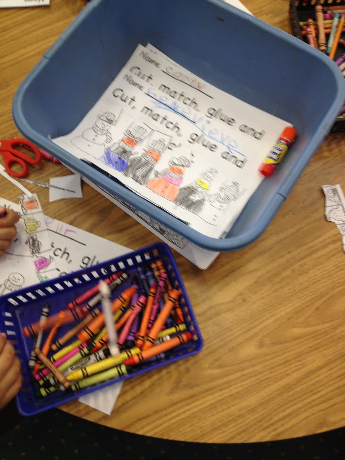Kindergarten Cowgirl Centers Today