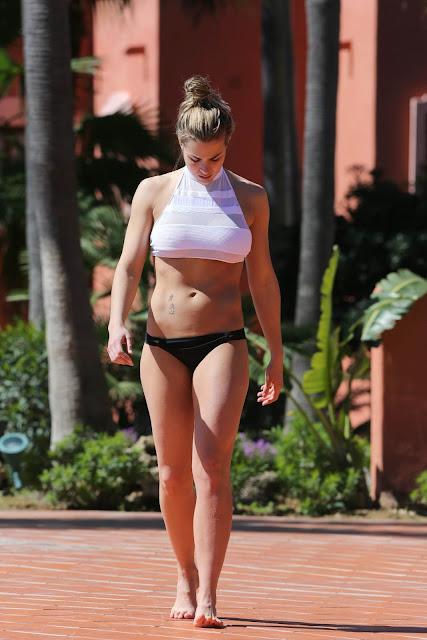 Gemma Atkinson in a Bikini – Marbella