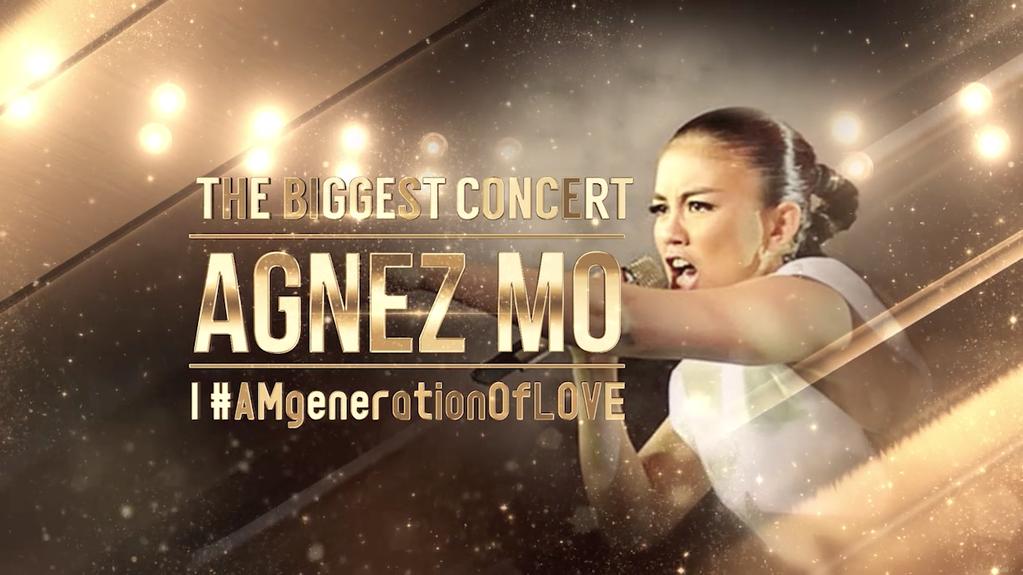 "Foto-Foto Agnez Mo Dikonser Bertajuk ""The Biggest Concert Agnez Mo"""