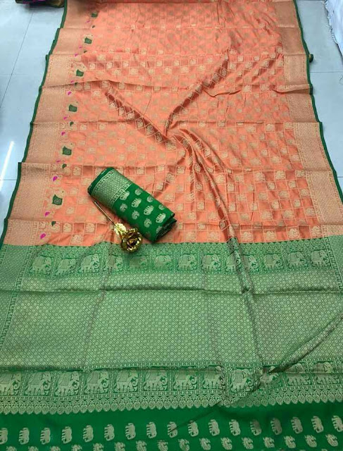 JD Hathi Patola Saree Latest Design