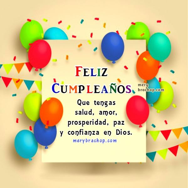 Bonito saludo de cumpleaños,  salmo 23 frases cristianas con lindas tarjetas para felicitar cumpleaños, salmo felicitación, imágenes cristianas y mensaje de cumple con cita bíblica por Mery Bracho.