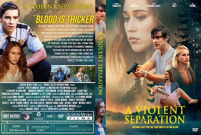 A Violent Separation DVD Cover