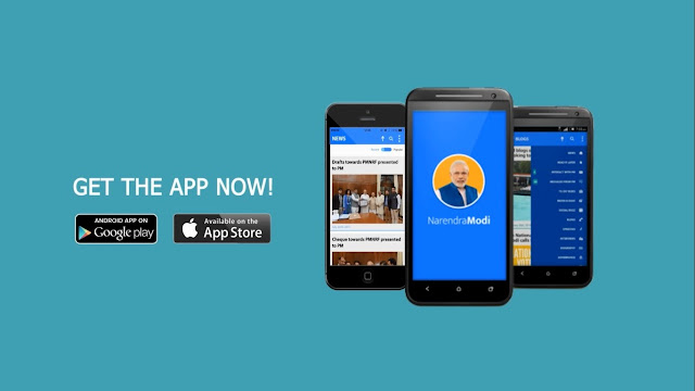 Narendra Modi App Topped In Apple And Google App Store Searches