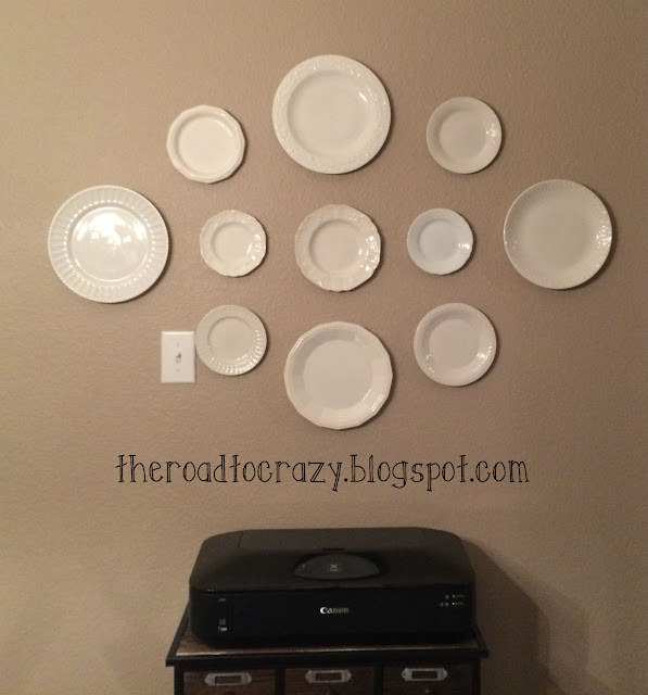 Diy Plate Hanger: The Road To Crafty: DIY Plate Hangers