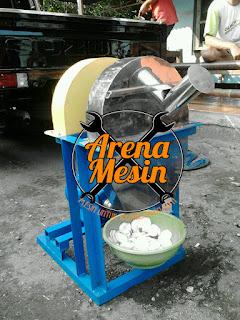 mesin perajang keripik pisang bentuk bulat