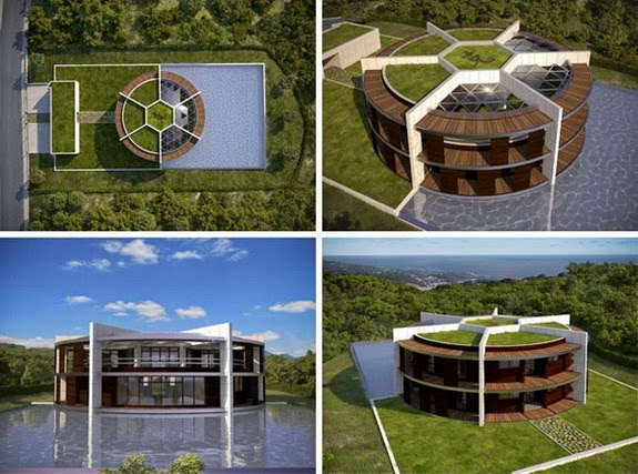This is what Lionel Messi's new football-themed mansion will look like