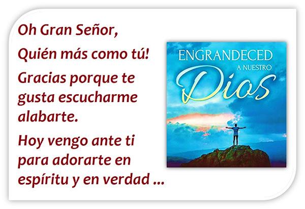 Oración para el Domingo - Para Adorar con un Corazón Sincero