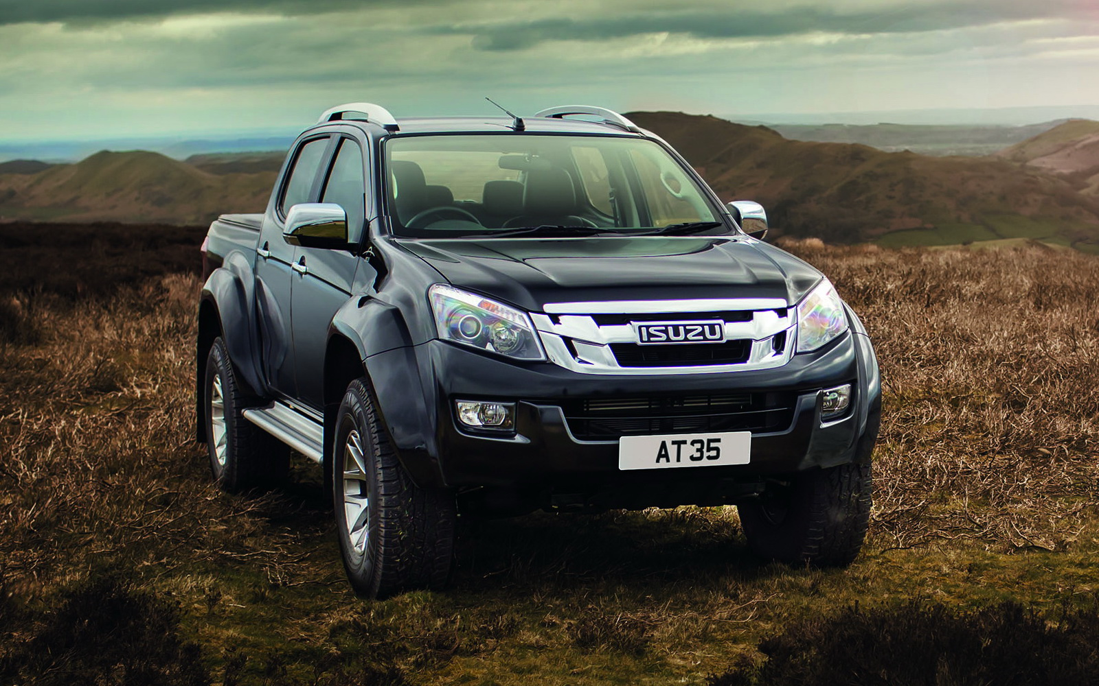 isuzu launches badass d max at35 with the kind help of arctic trucks carscoops. Black Bedroom Furniture Sets. Home Design Ideas