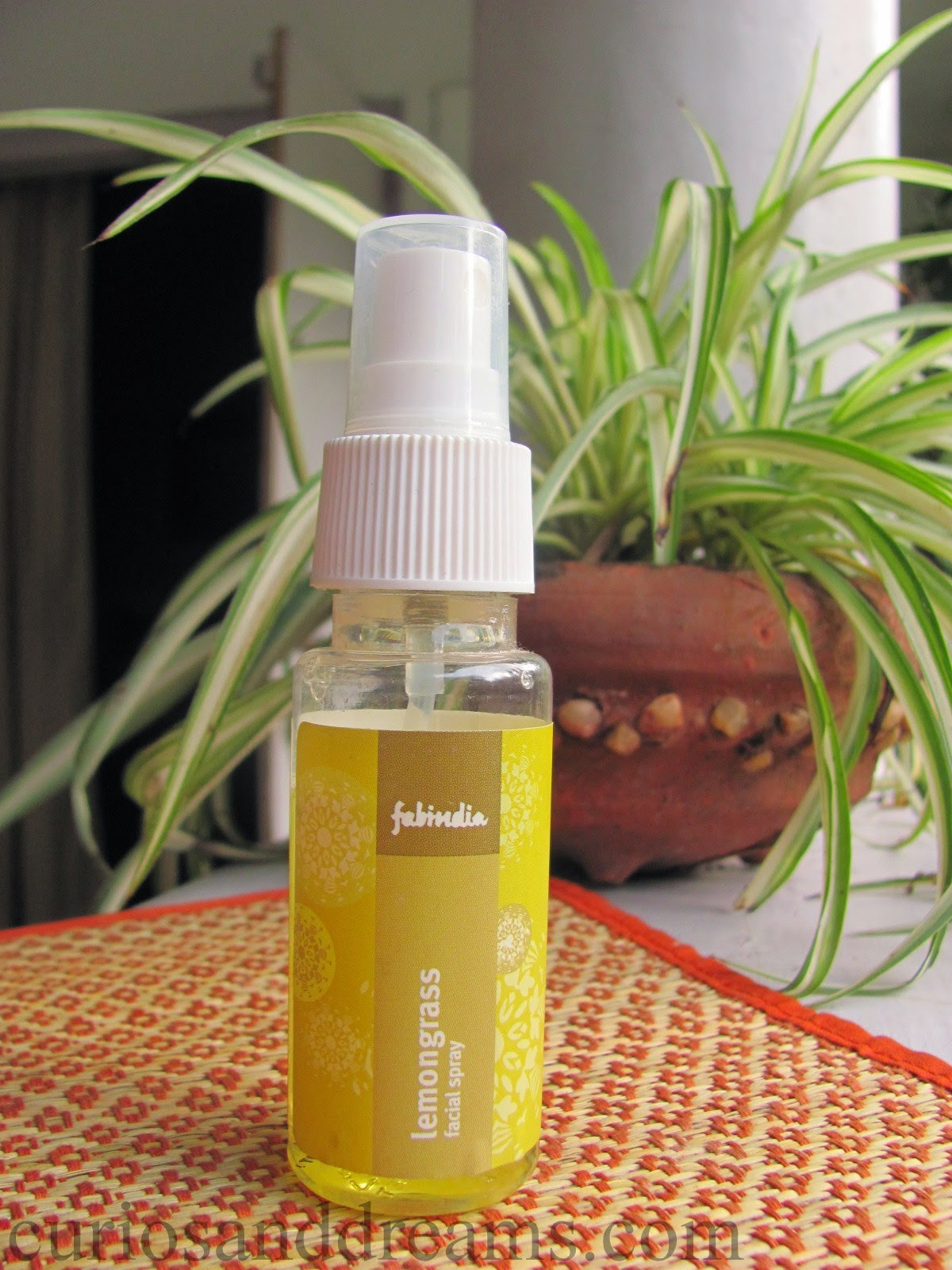 FabIndia Lemongrass Facial Spray review