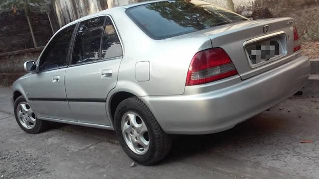 Honda City SX8 belakang
