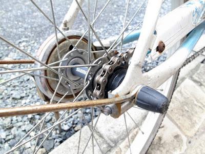 自転車のチェーンメンテナンス
