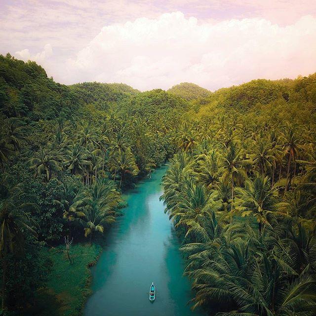 wisata sungai maron pacitan SUNGAI MARON Wisata Pacitan