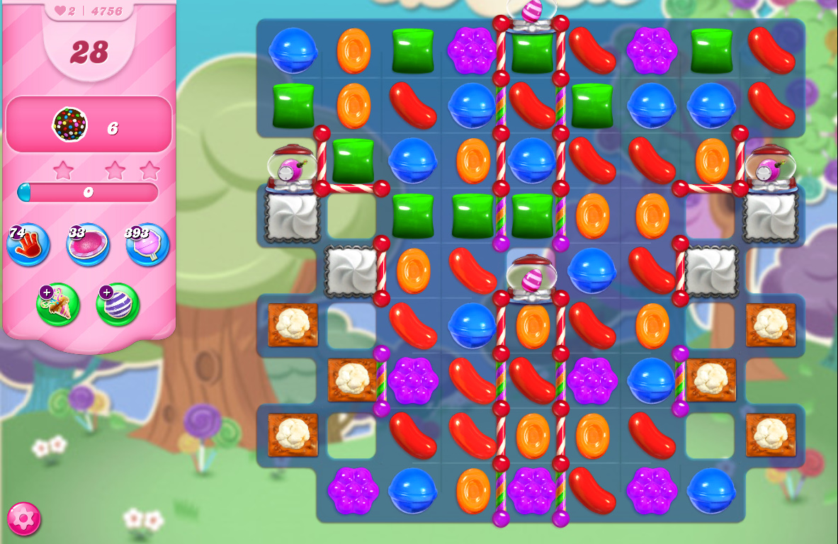 Candy Crush Saga level 4756
