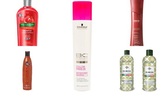 shampoos cabelos coloridos low poo
