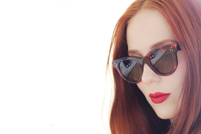 67b1685a05 Celine Baby Audrey Sunglasses Havana