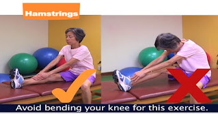 Stretching Hamstring wrong and right method
