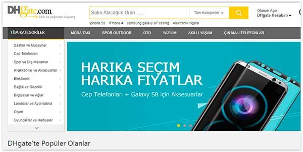 DHgate Türkçe