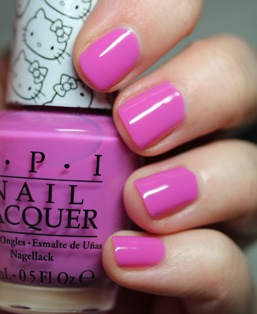 OPI Super Cute In Pink Hello Kitty nail polish