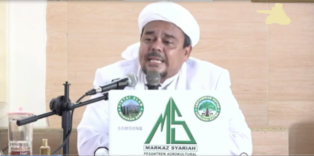 Habib Rizieq Syihab: Sukmawati Gagal Paham