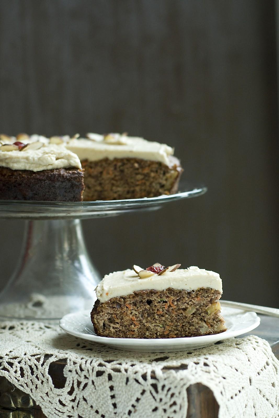 Simply Gourmet: 210. Apple Harvest Cake for #SundaySupper