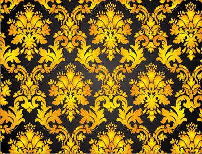 Vector Desain Batik Format Coreldraw