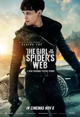 The Girl in the Spiders Web 2018  Dual Audio HDRip 480p  ESub x264