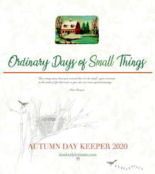 NOW AVAILABLE!<br>The Ordinary Days of Small Things<br>Autumn Day Keeper