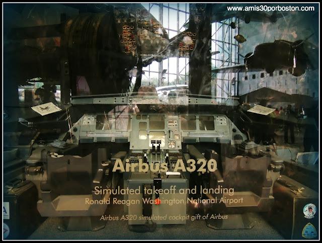 Museo Nacional del Aire y el Espacio de Estados Unidos: Airbus A320 Cockpit