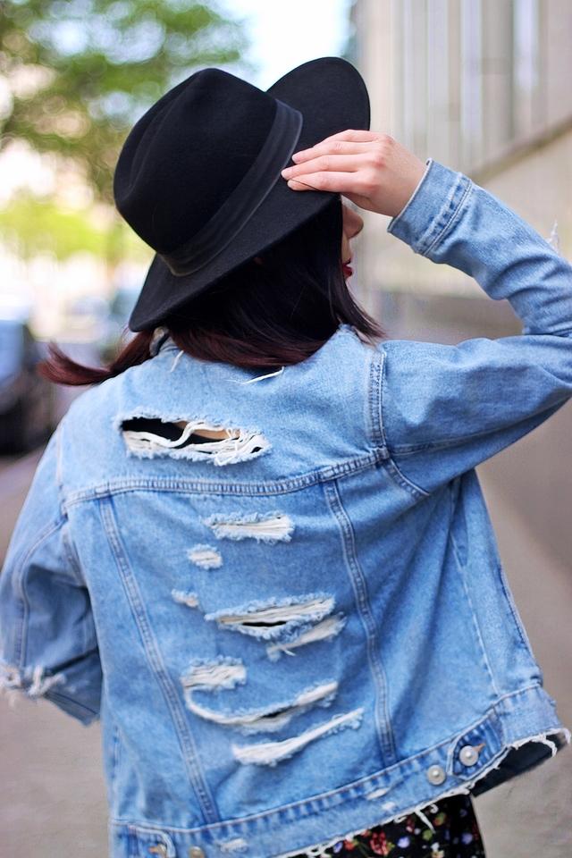 podarta katana z dżinsu blog modowy