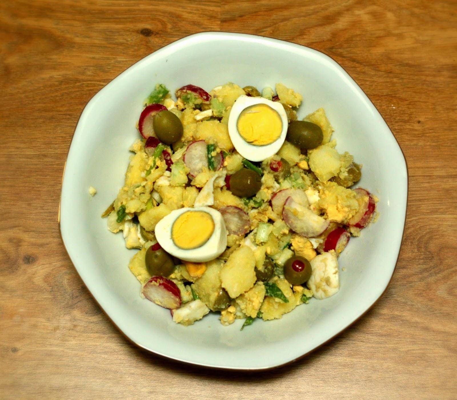 #Vegetarian Potato #Salad #Recipe
