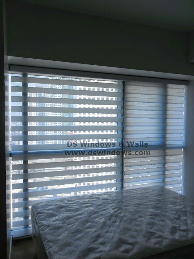 Combi Blinds Installed in Condo Unit - Plainview, Madaluyong