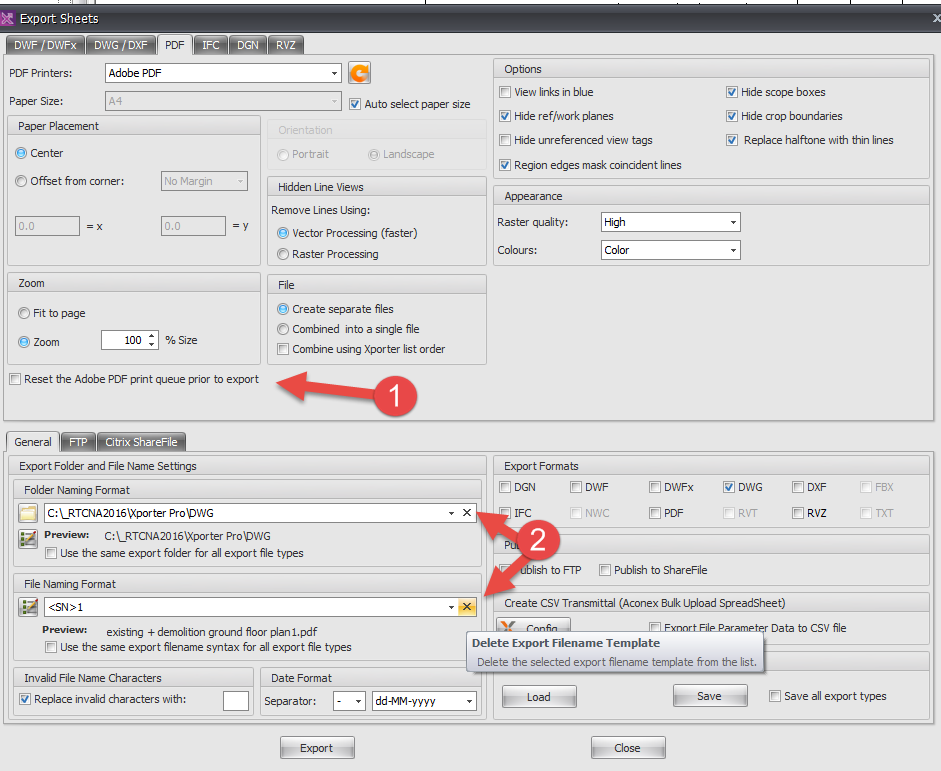 Revit Add-Ons: RTV Xporter Pro Update Released – Desktop App
