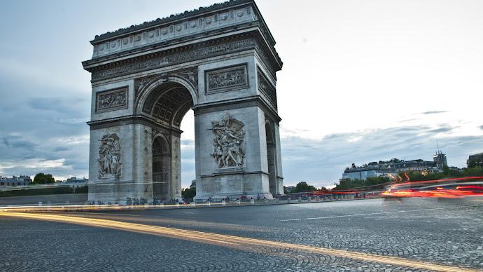 Wallpaper: Arc de Triomphe from Paris
