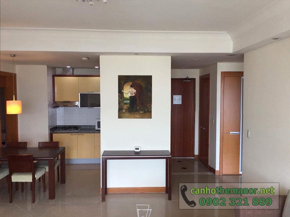 The Manor 1 Ho Chi Minh cho thuê căn hộ 2 phòng ngủ