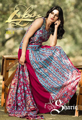 Shariq beautiful designs of summer dresses