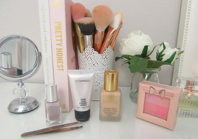 Makeup table