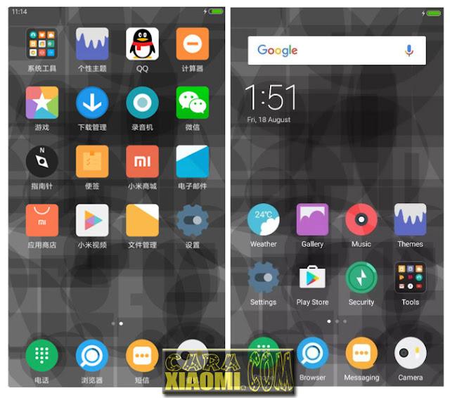 Download MIUI Theme IUI 999 Mtz Material Flat Desain For Xiaomi V9 Theme