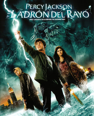 Percy Jackson and the Olympians: The Lightning |2010| |DVD| |R1| |NTSC| |Latino|
