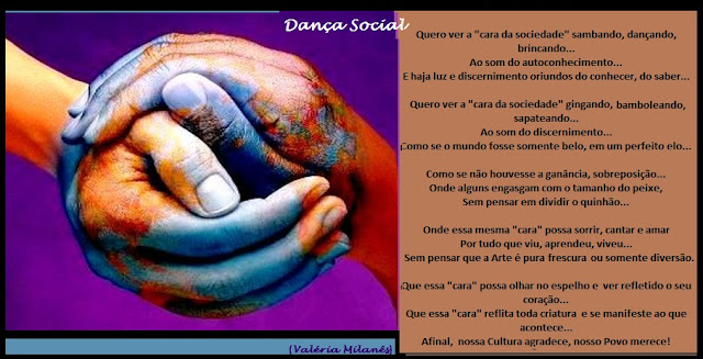 Reflexão Poesia Sociedade Social Dança