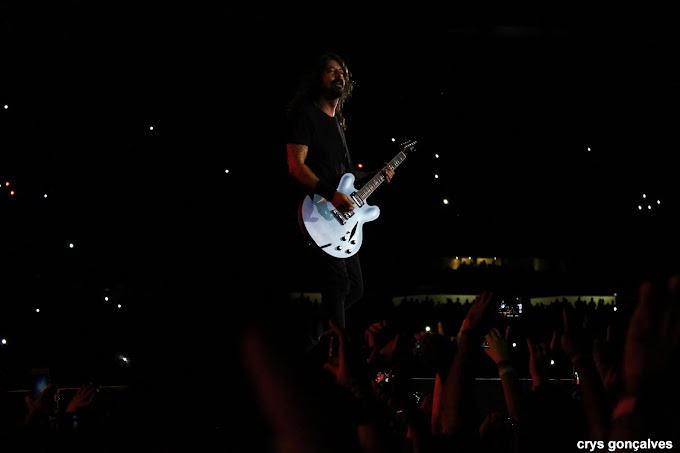 Em São Paulo, Foo Fighters faz show fora de série