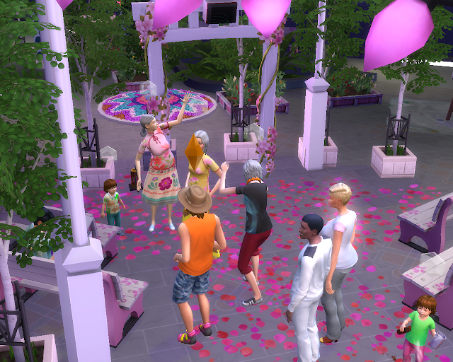 The sims 4 | Pink Party