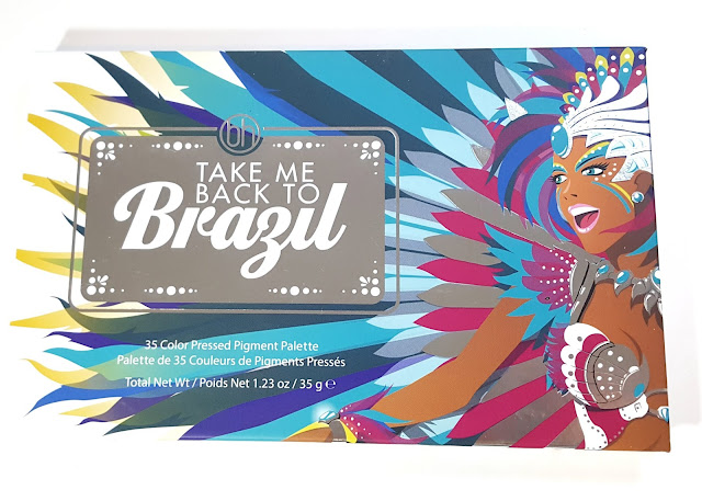 BH Cosmetics Take Me Back To Brazil Eyeshadow Palette Review