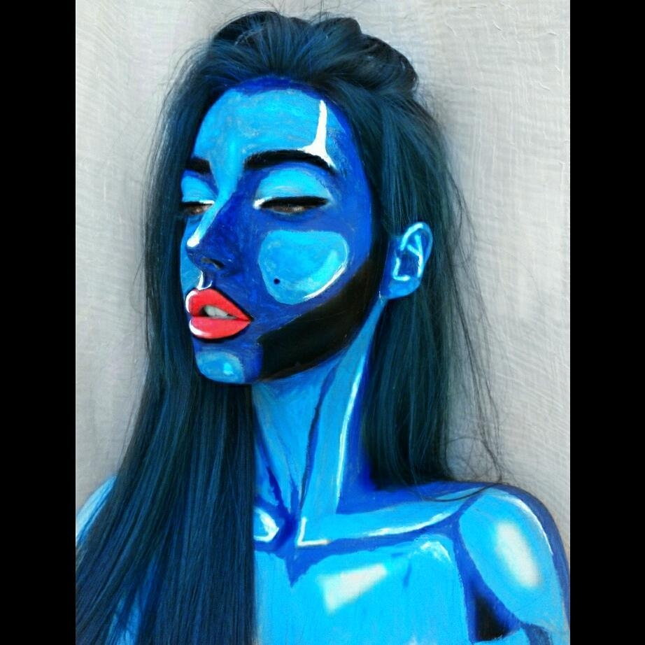 04-Tea-Popović-Body-Paint-Artistic-Transformations-www-designstack-co