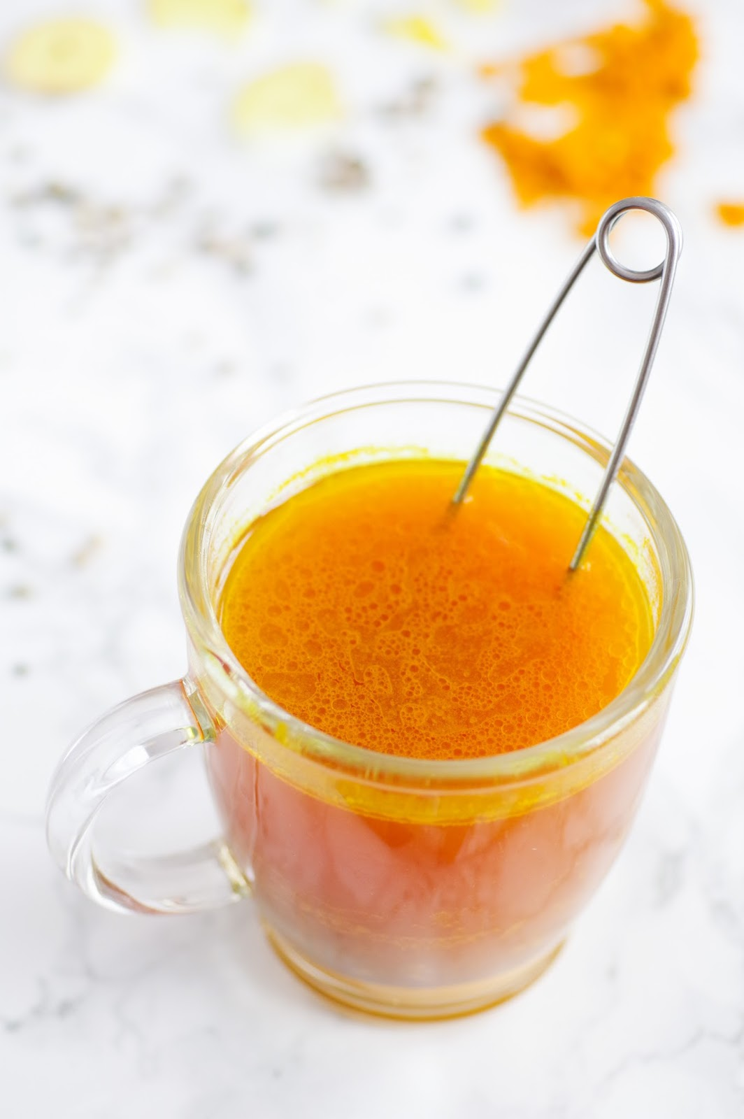 Immune-Boosting, Cold-Fighting, Anti-Inflammatory Turmeric Tea