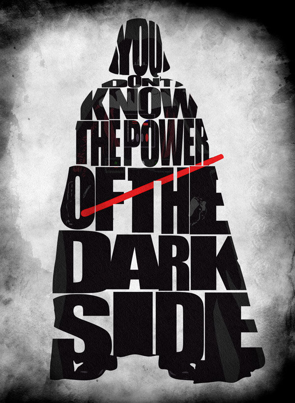Jedi Quote Wallpaper Beautiful Typographic Posters Feature Pop Culture Icons