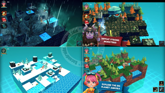 game Ankora Craft Block planet Apk terbaru For Android